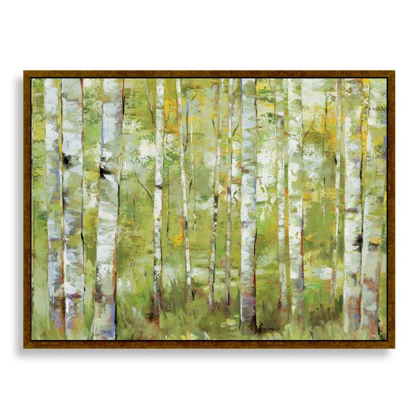 Essence Green Trees Wall Art - Bed Bath & Beyond | Home Decorating ...