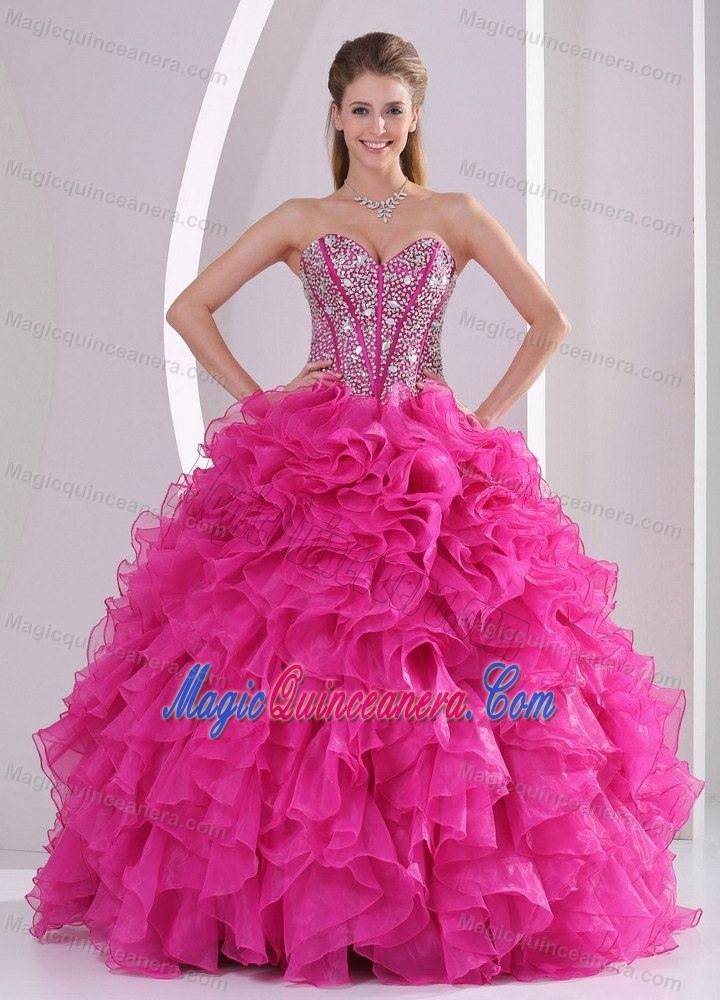 ... quinceanera ball gowns and sweet 16 dresses. Hot Pink 15 Dresses  95342174d07b