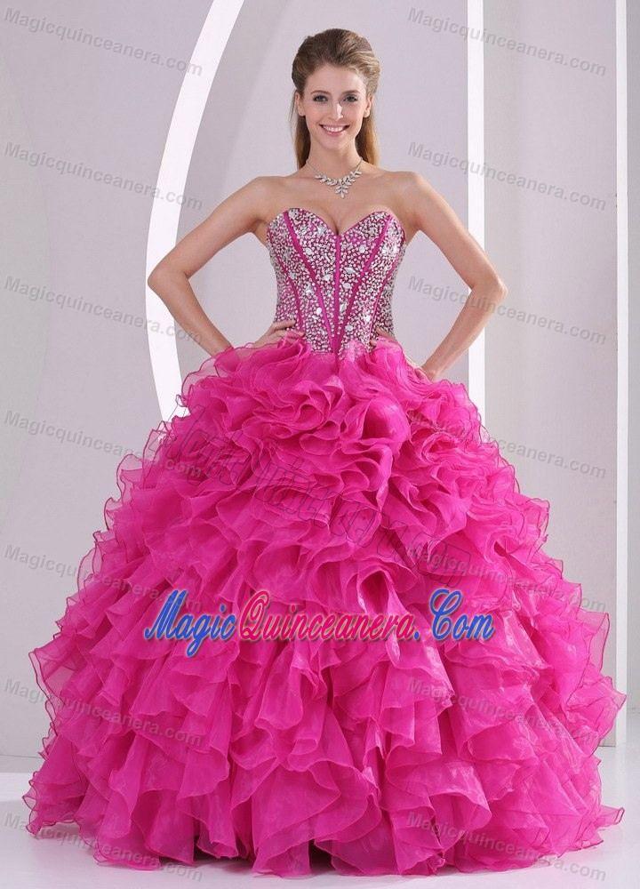 03b7c2b78c97 Hot Pink 15 Dresses | Home > Quinceanera Dresses > Sweet 15 Quinceanera  Dresses