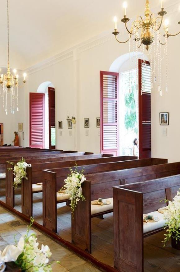 Decoraç u00e3o de Casamento Igreja Simples e econ u00f4mica! noiva Pinterest Decoraç u00e3o de casamento