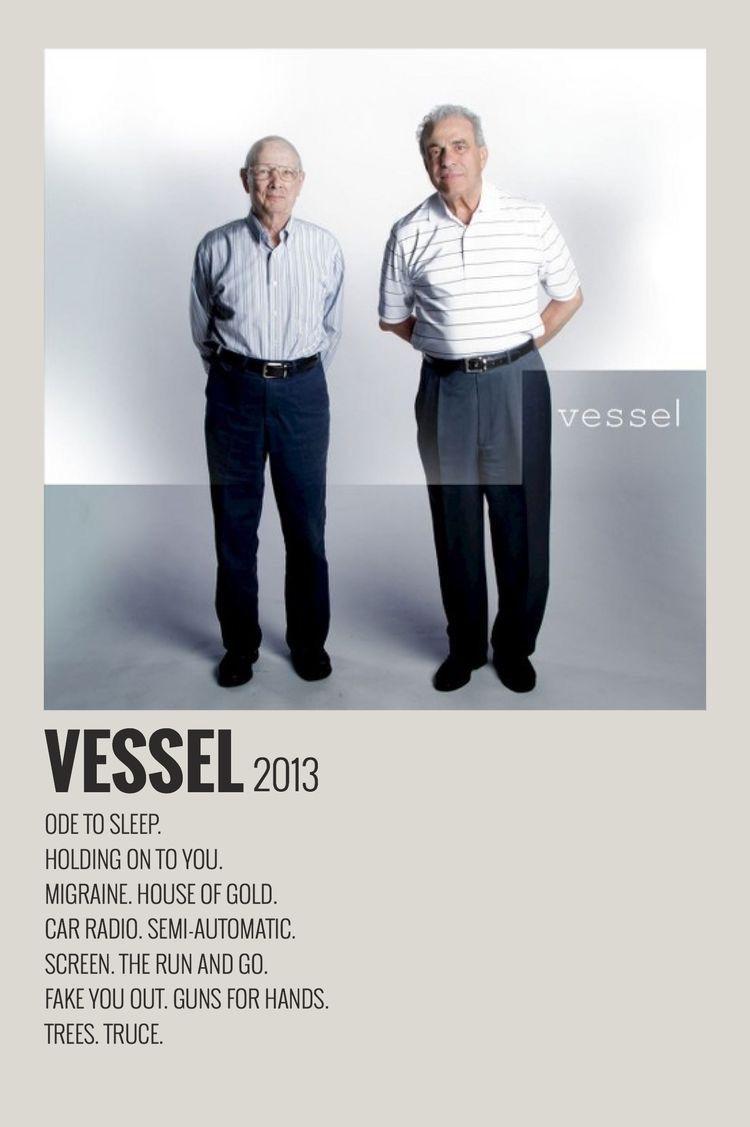 Vessel By Maja In 2020 Minimalist Music Film Posters Minimalist Music Poster Design