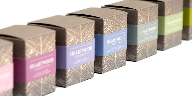 Heartwood Candle On Packaging Of The World