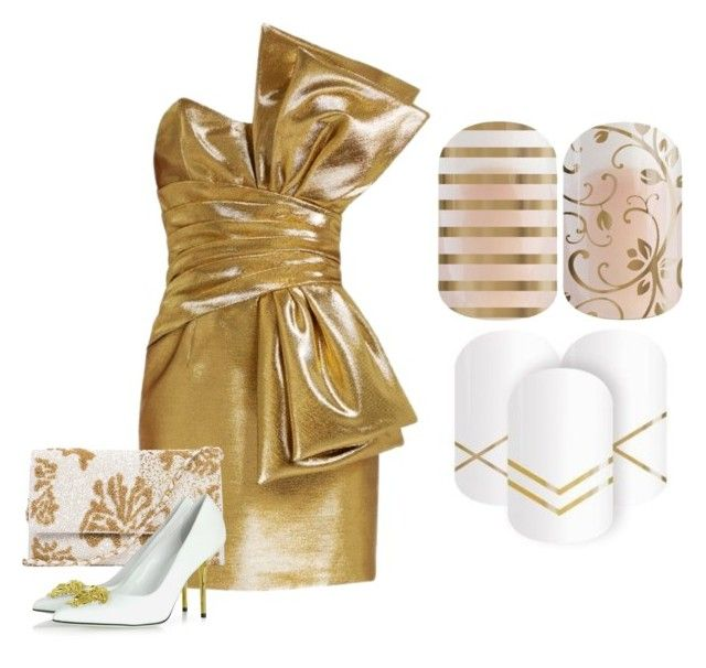 """Save The UGLY BRIDESMAID Dress"" by kspantongroup on Polyvore featuring Yves Saint Laurent and Versace"