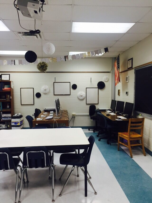 Black White And Gold Classroom Decor Classroom Decor Middle