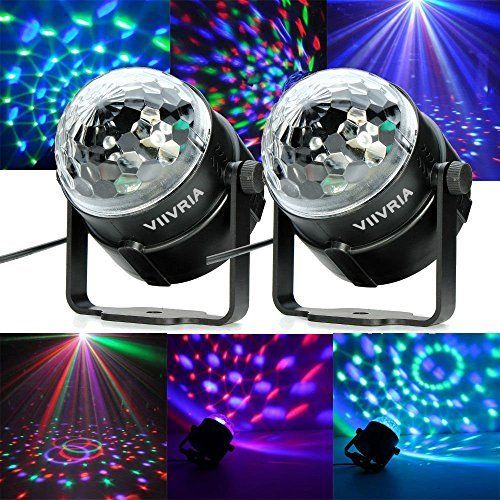 Led Disco Ball By Nulights Rgb Led Party Lights 100 Risk Free Best For Kids Parties Dj Amp Mood Lighting Party Lig Dj Beleuchtung Disco Licht Rgb Led