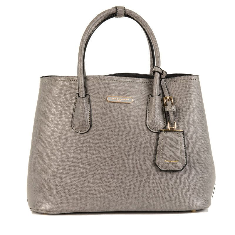 David Jones Ladies Shopper Handbag Cm2510 Grey