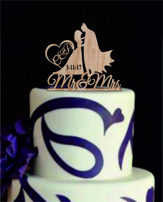 Mr And Mrs Quiz Questions: Batman Silhouette, Rustic Wedding Cake Topper, Bride And