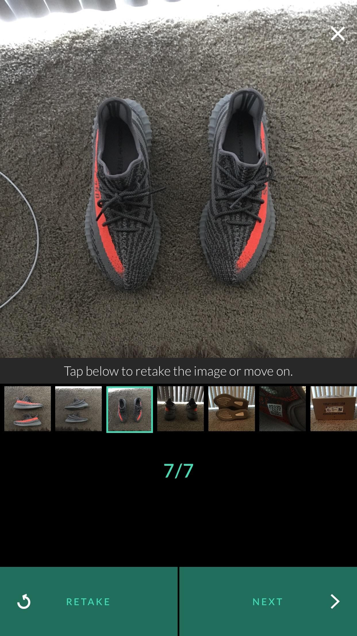 10890246b47  fs  Yeezy boost 350 v2 beluga on goat for 780 used in good condition
