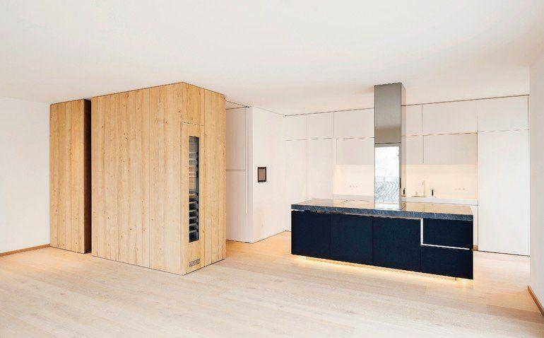 Innenausbau Einer Stadtwohnung In Munchen Reduktion Holzrausch Innenausbau Stadtwohnungen