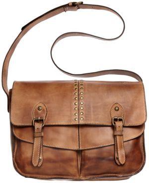Patricia Nash Oil Rub Taranto Messenger Bag - Handbags & Accessories - Macy's