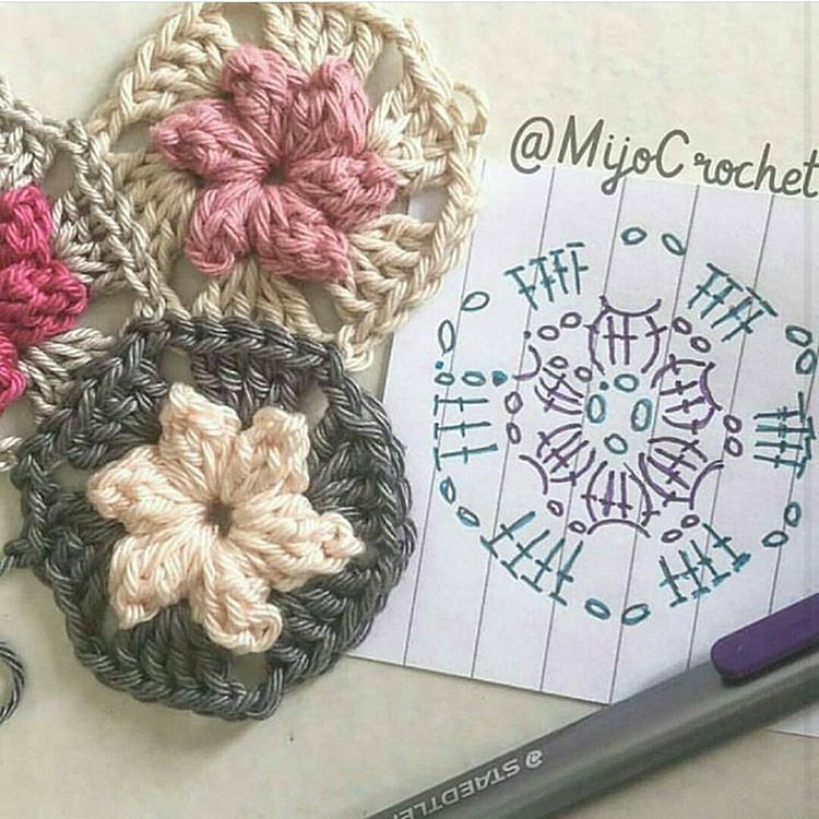 Fofuras para vocês #crochet #graficos #pattern #patron | 뜨개 ...