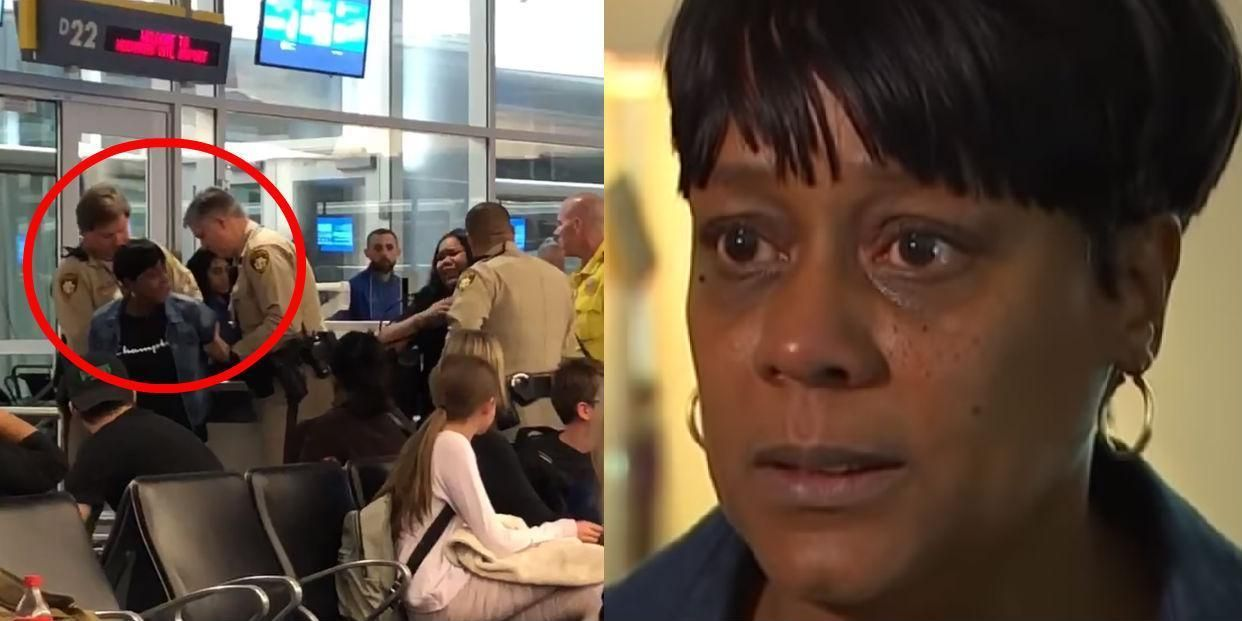 Mom Arrested After Dispute Over Vomit On Daughter S Plane Seat