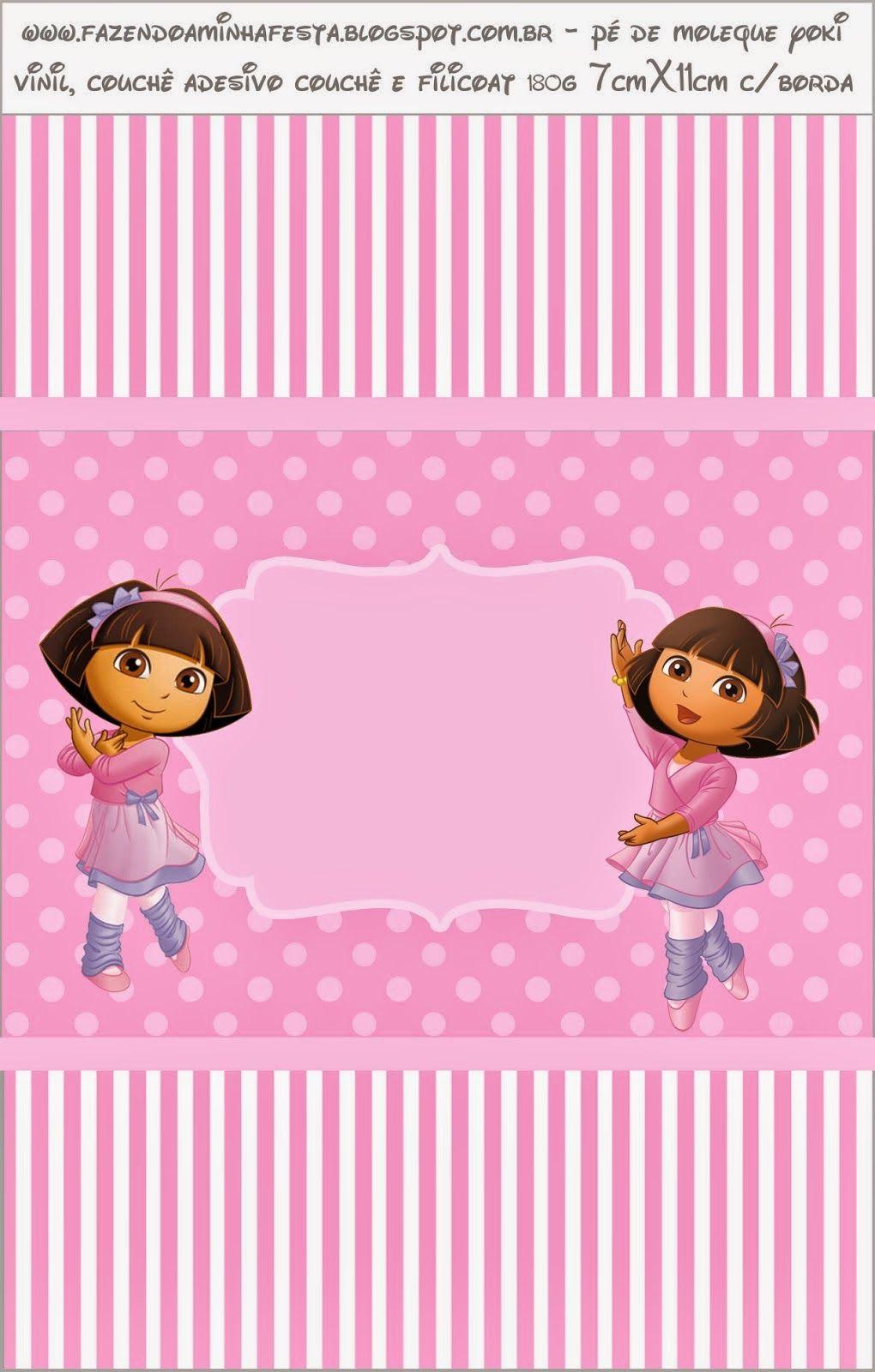 Dora Balletista: Etiquetas para Candy Bar para Imprimir Gratis ...