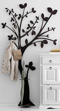Heine Garderobe Baum Home