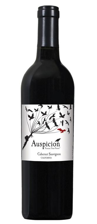 AUSPICION CABERNET SAUVIGNON #wine #vino #packaging