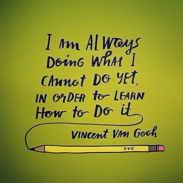 Inspirational Quotes On Pinterest: #vangogh #quotes #quote #quoteoftheday #inspirationalquote