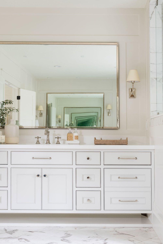 Cabinet Hardware Placement Guide Studio Mcgee Transitional Master Bathroom Master Bathroom Studio Mcgee [ jpg ]