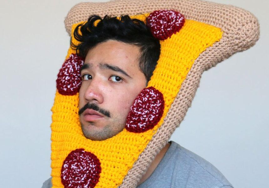 Meet Chili Philly: The Man Who Crochets Food Hats