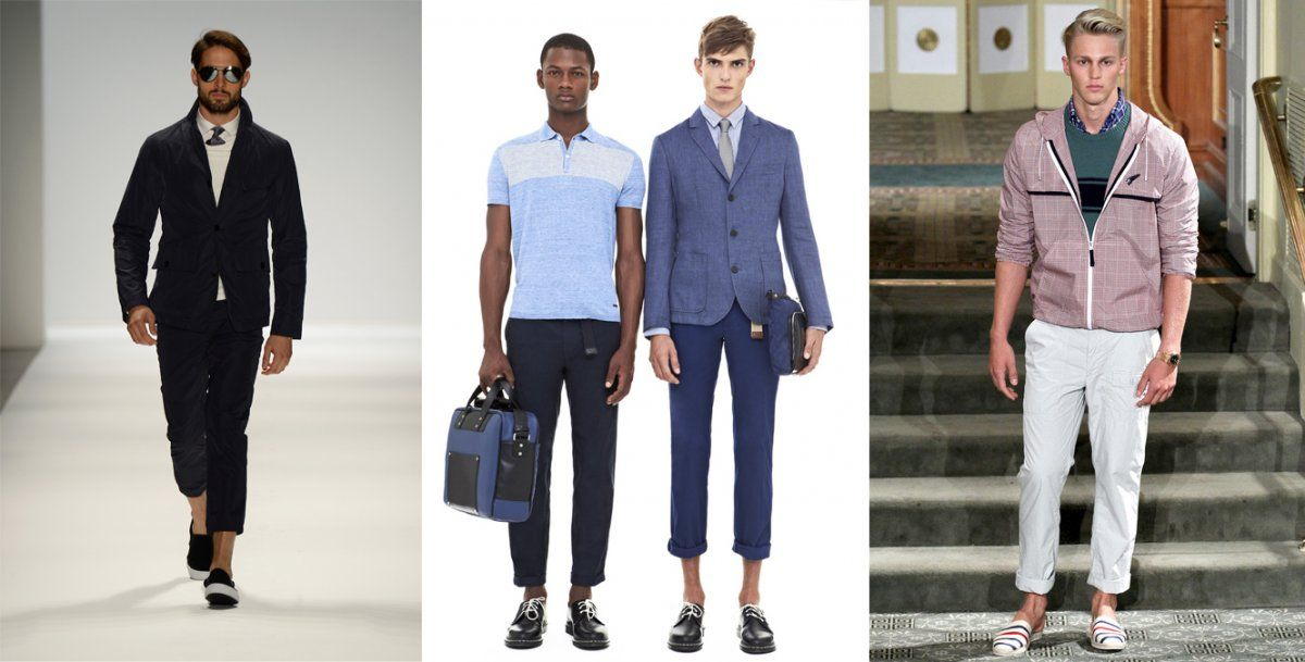 5ffe1e00e54 Men s Trends For Spring MBFW Spring 2014 - Business Insider- High-Rise or Rolled  Pants