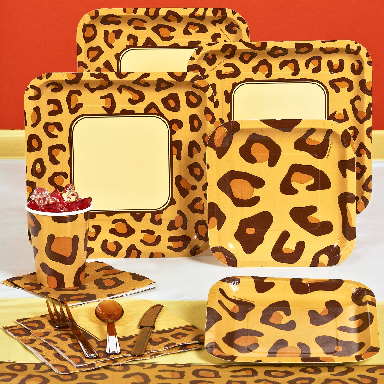 Leopard Print Party Decorations Hello Kitty Leopard Print Birthday Decorations Zebra Print Theme