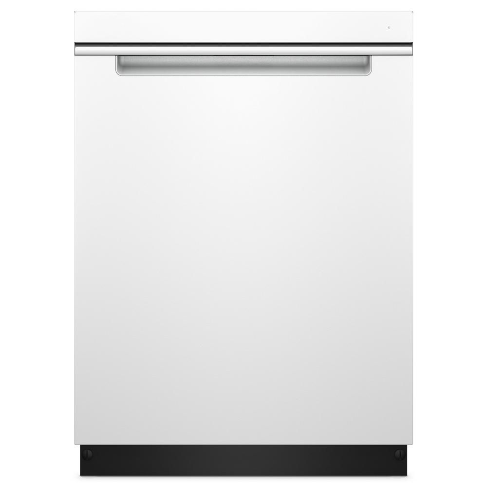 Whirlpool Top Control Built In Tall Tub Dishwasher In Fingerprint Resistant Black Stainless With Stainless Steel Tub 47 Dba Wdta50sahv The Home Depot Steel Tub Built In Dishwasher Dishwasher White