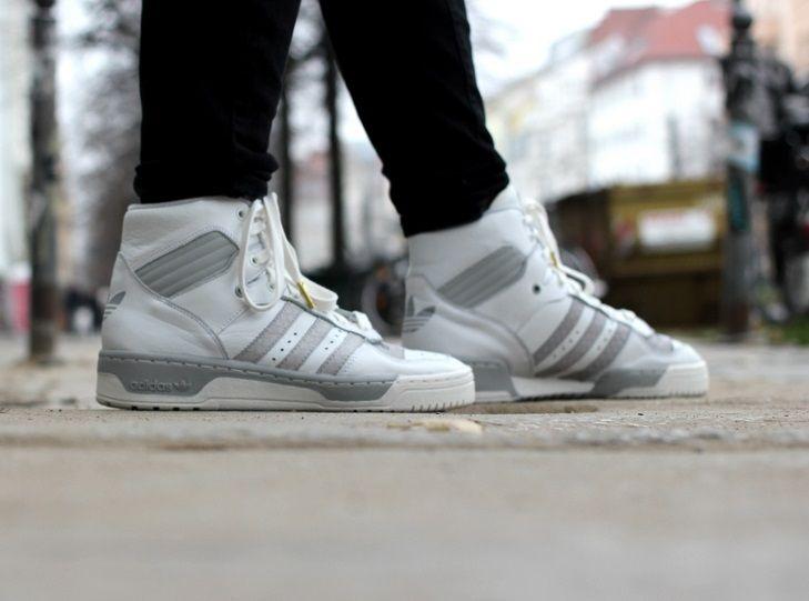 adidas Originals Rivalry High: White/Grey