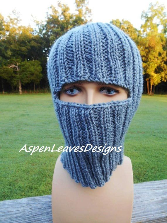 adult full face mask winter hat