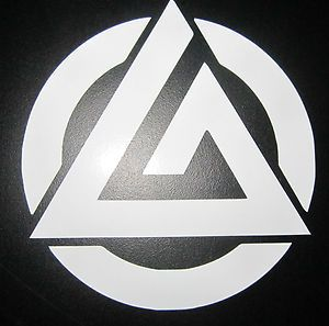 Gracie Jiu Jitsu Triangle Logo Vinyl Decal Sticker bjj MMA Mixed Martial Arts   eBay