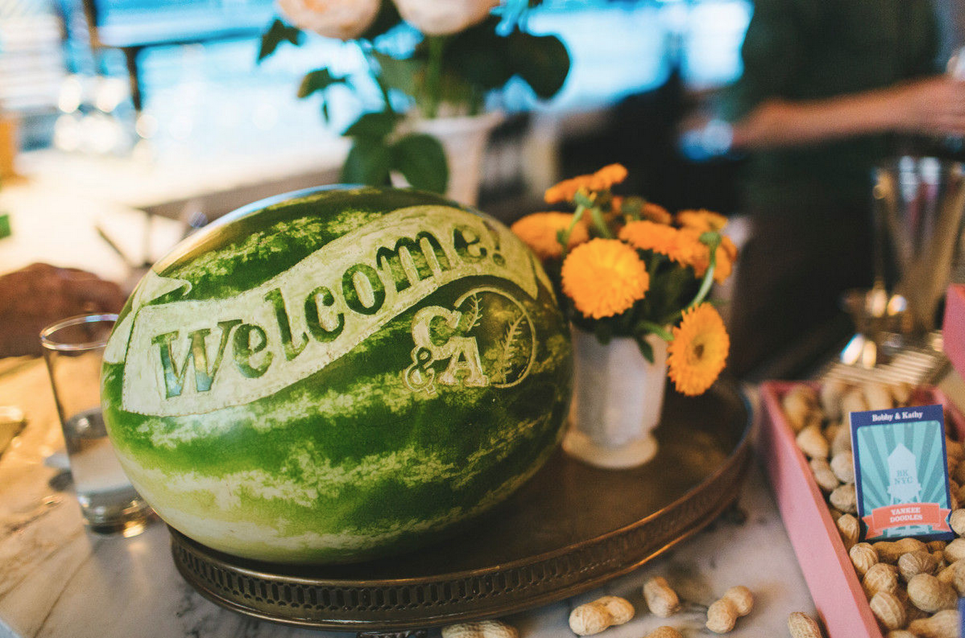 Two Words Welcome Watermelon