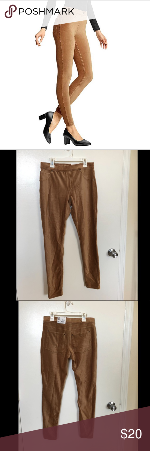 39df773c70e5d HUE corduroy leggings in caramel These HUE brand corduroy leggings are new  with tags! I