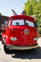 Pixar At Disney Character Central Fire Trucks Disney Pixar Cars Red Car