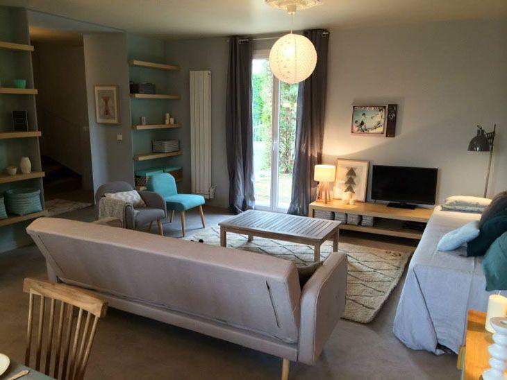 maison d co scandinave la d coration l gante sign e sophie ferjani pinterest salons. Black Bedroom Furniture Sets. Home Design Ideas