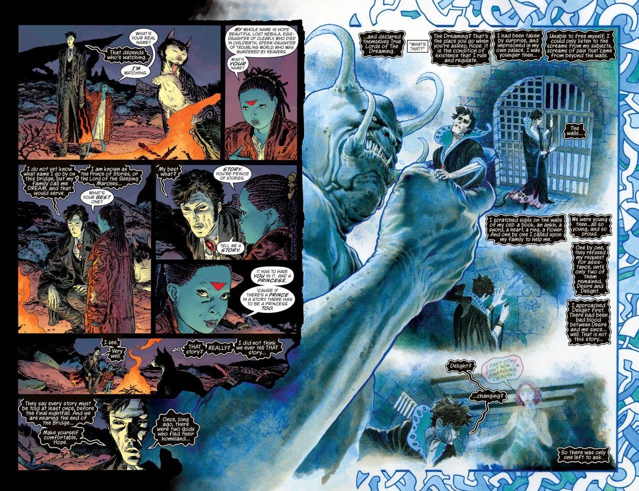 Sandman: Overture #3 (1). Neil Gaiman. J.H. Williams III.