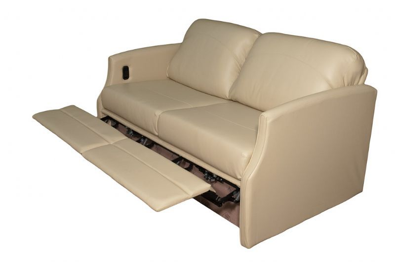 Flexsteel 4615 Sleeper Sofa W Dual Footrests Glastop Inc Rv