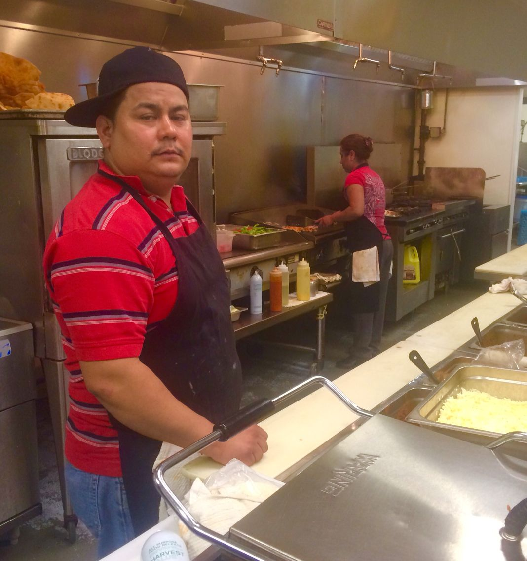 Our Kitchen crew at Poblano's Mexican restaurant