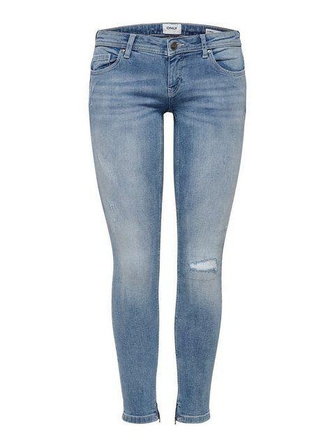 Coral sl Ankle Zip Skinny Fit Jeans