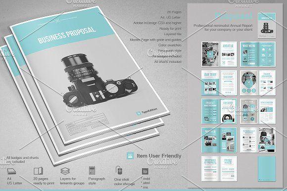 Proposal @creativework247 Brochure Design - Brochure layout