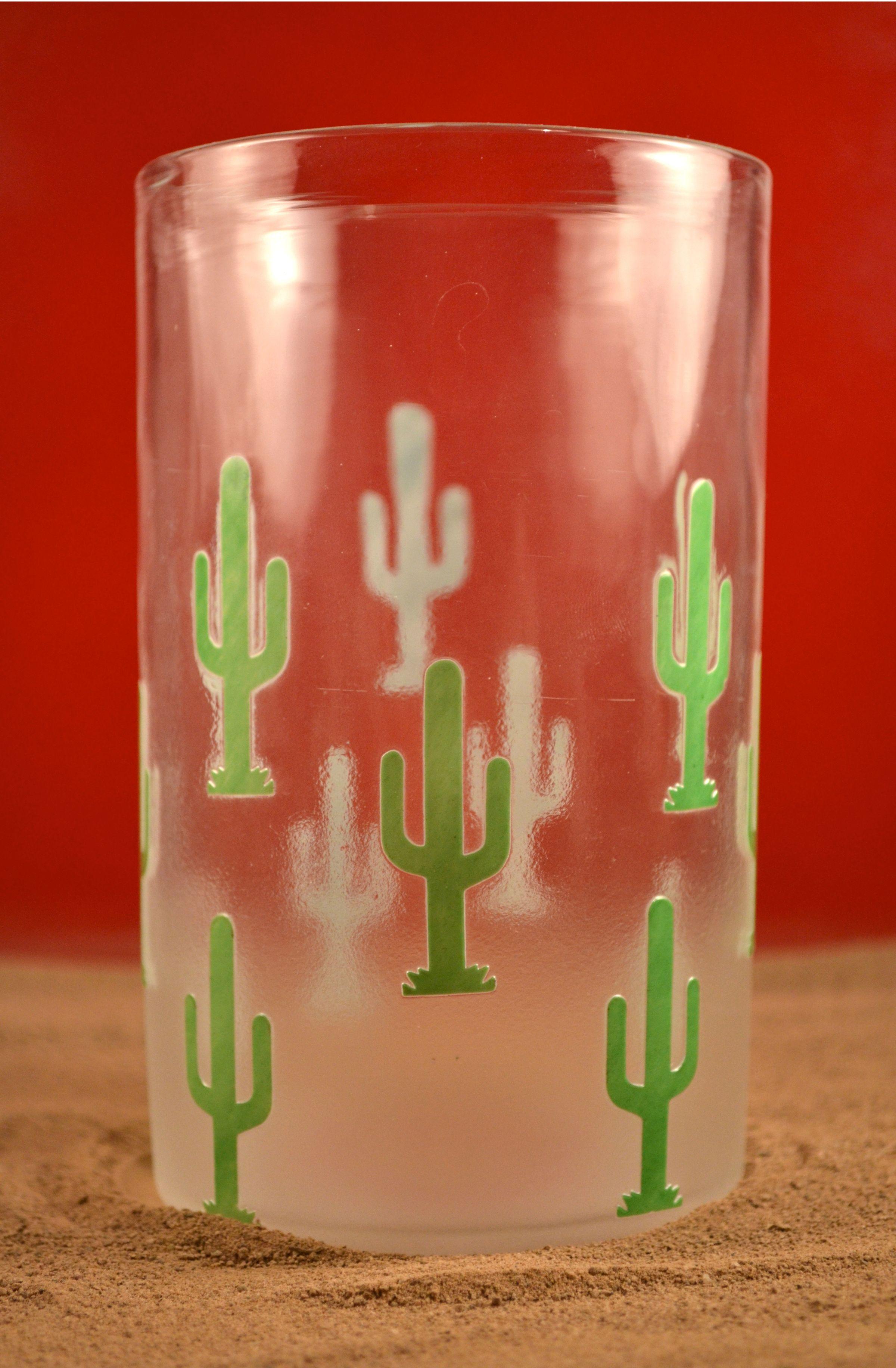 Saguaro Cactus Glass Hand Blown Glass Glass Cactus