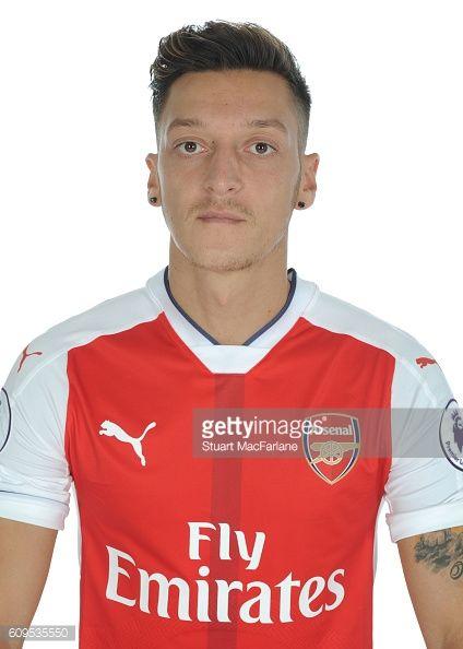 Arsenal's Mesut Ozil at London Colney on September 21 2016 in St Albans England