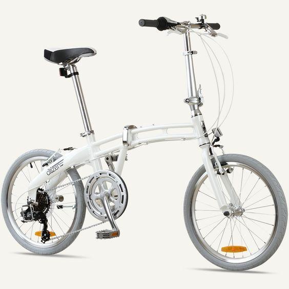 Gotham7 Citizen Bike 20 7 Speed Folding Bike With Alloy Frame