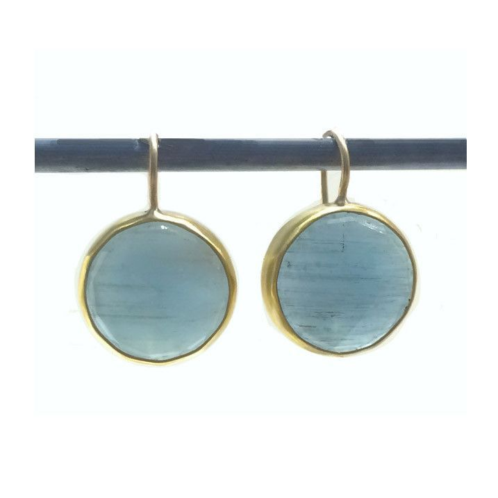 Aquamarine Victoria Earrings