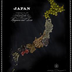 """Le """"squisite"""" mappe dei Paesi del mondo ricostruite attraverso il cibo » Epì Paidèia"""