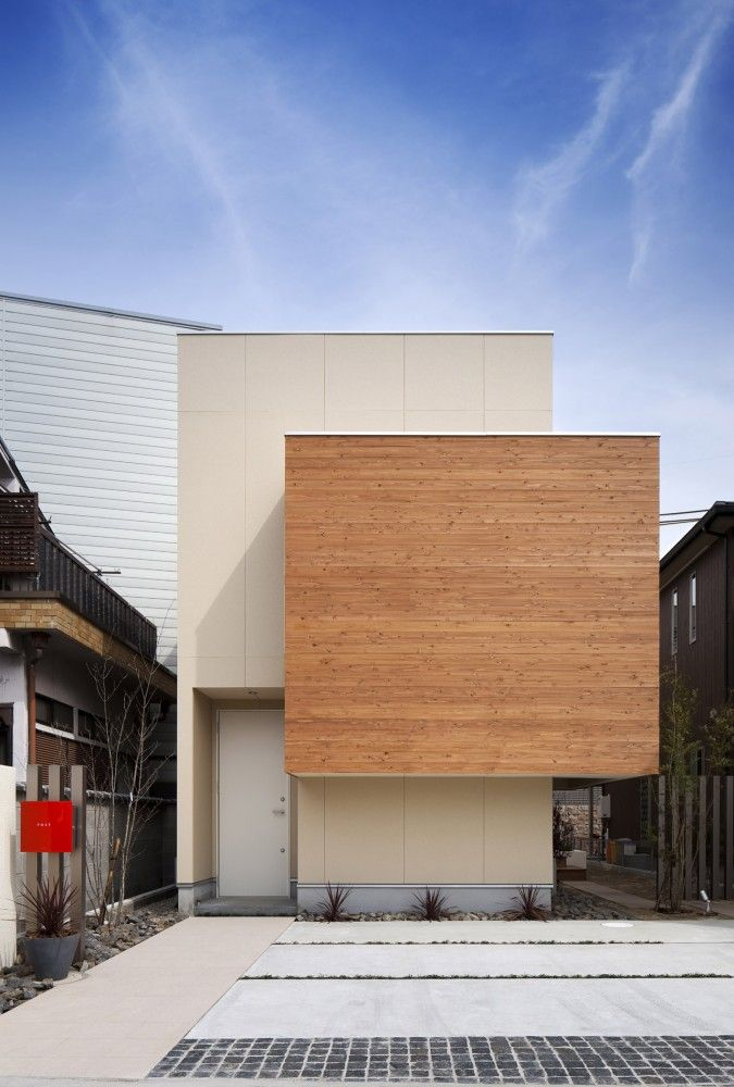 House In Kyobate Naoko Horibe Architecture Japanese Home Design Architecture House