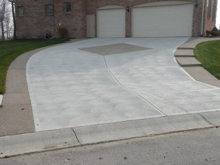 There Also Are Many Different Concrete Driveway Finishes