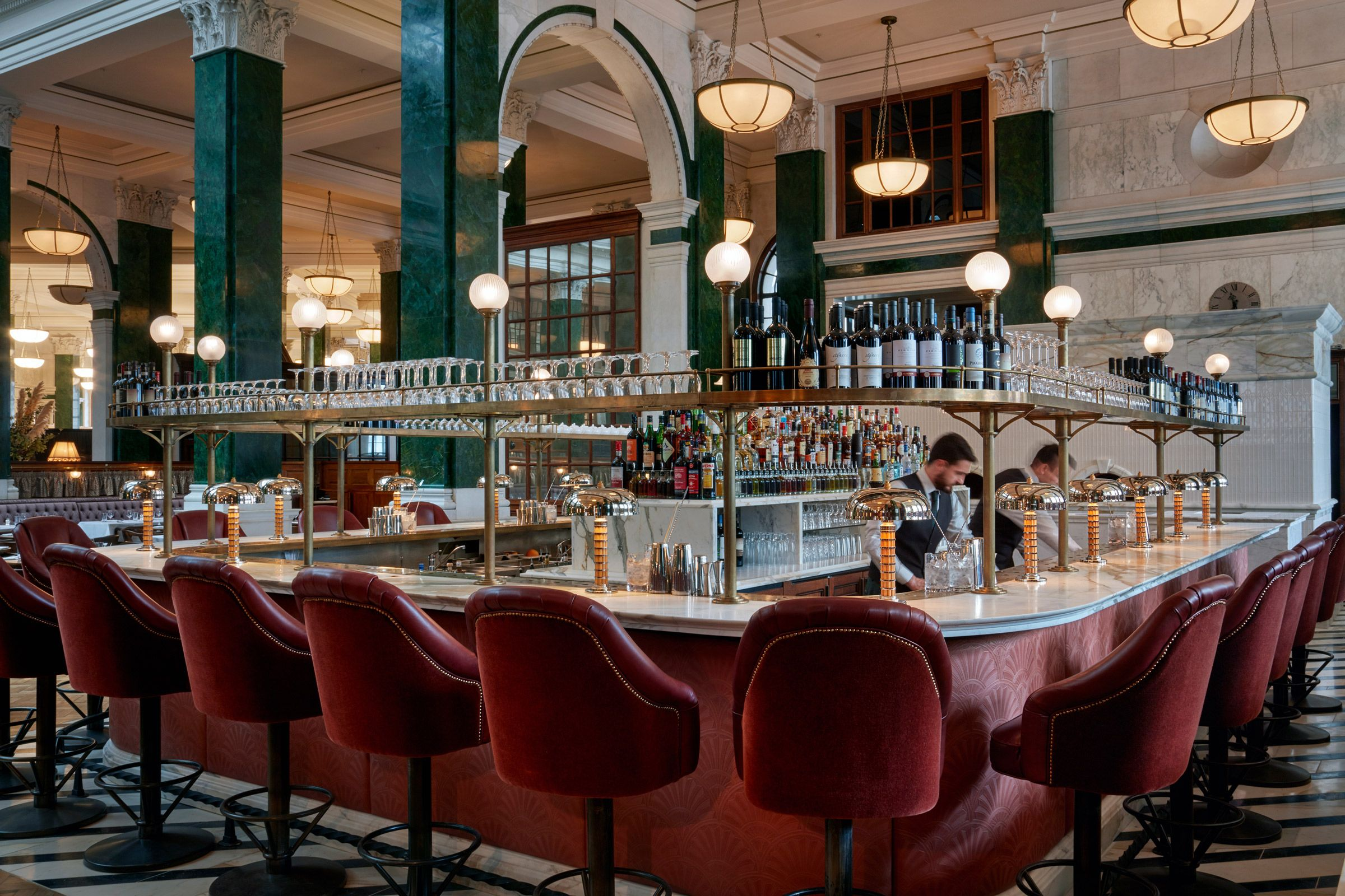 All day brasserie in the City of London serving