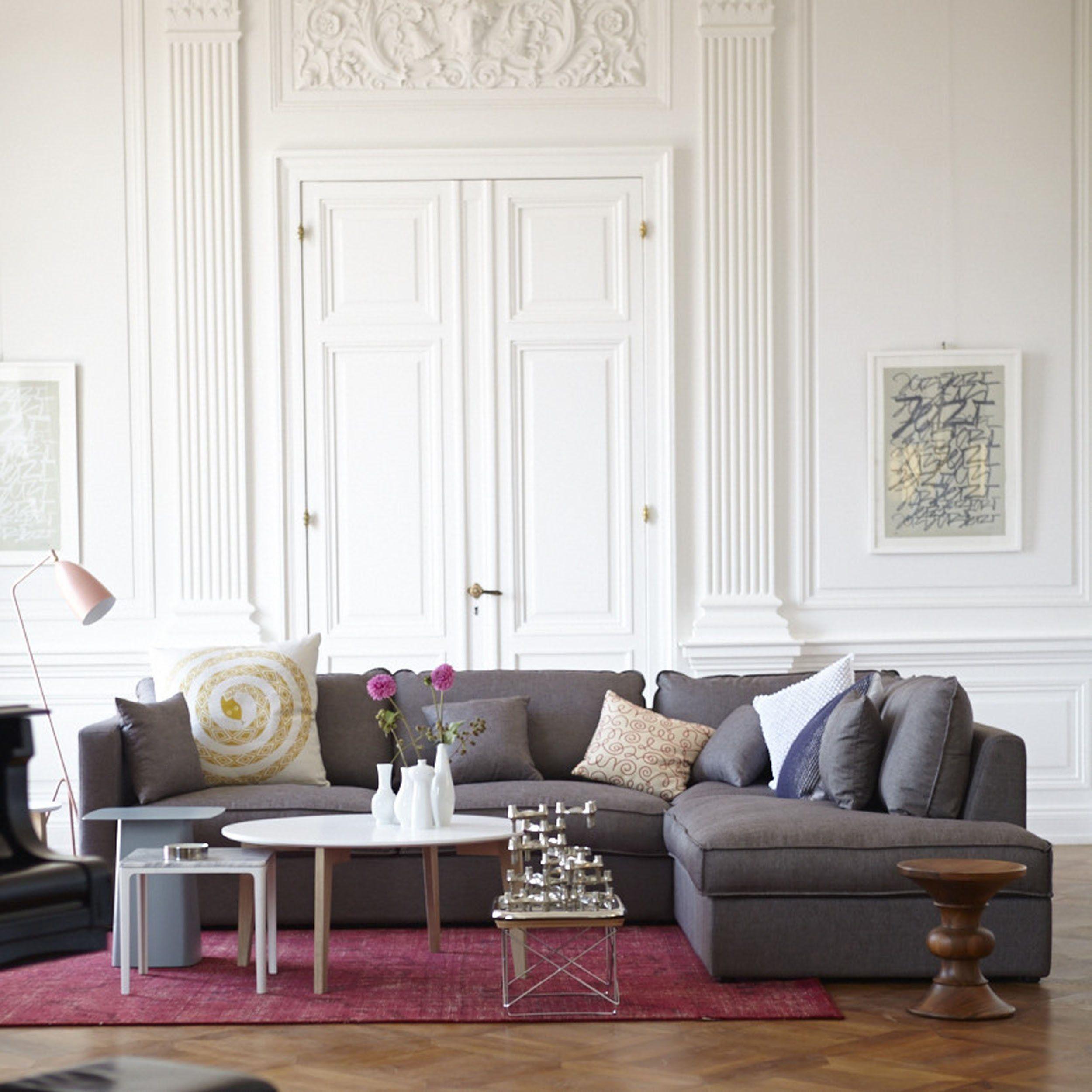 misso sofa mit longchair rechts hellbraun ideen f r On designklassiker wohnzimmer