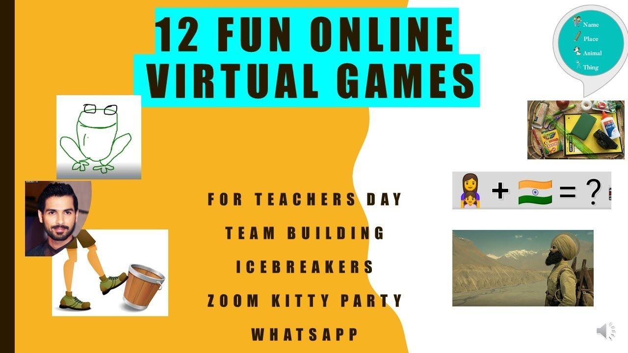 36++ Zoom icebreaker games for work information