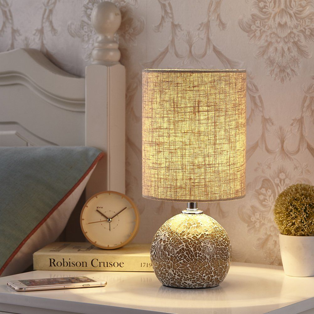 Cute Bed Lamp With Drum Shade Side Table Lamps Bed Lamp Table Lamps For Bedroom