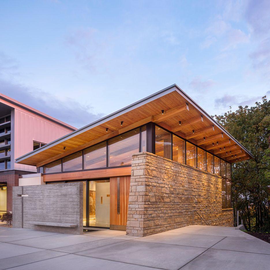Stem School West Seattle: Seattle Chapel By Hennebery Eddy Features Walls Of Rough
