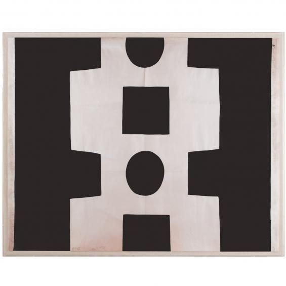 Modern wall art natural curiosities paule marrot black white abstract jonathan adler